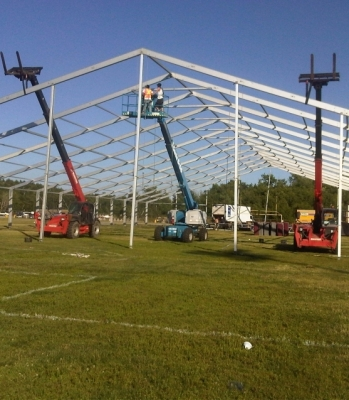 Northern Ontario Tent Supplier - Francophone Games