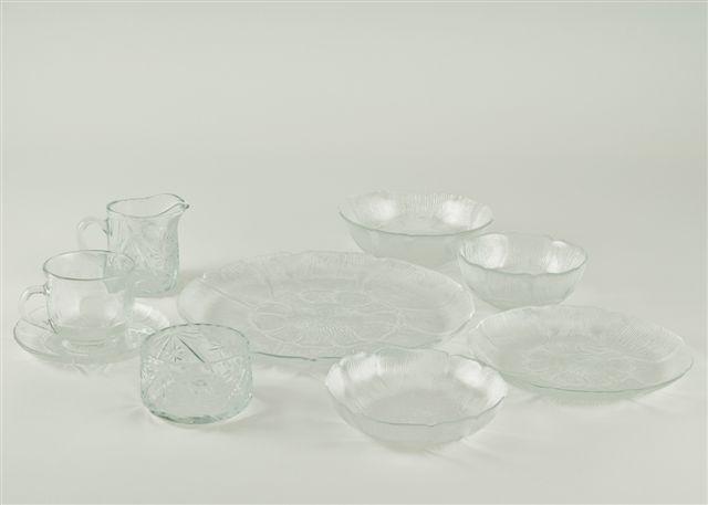 Arcoroc - Glass Fleur Pattern
